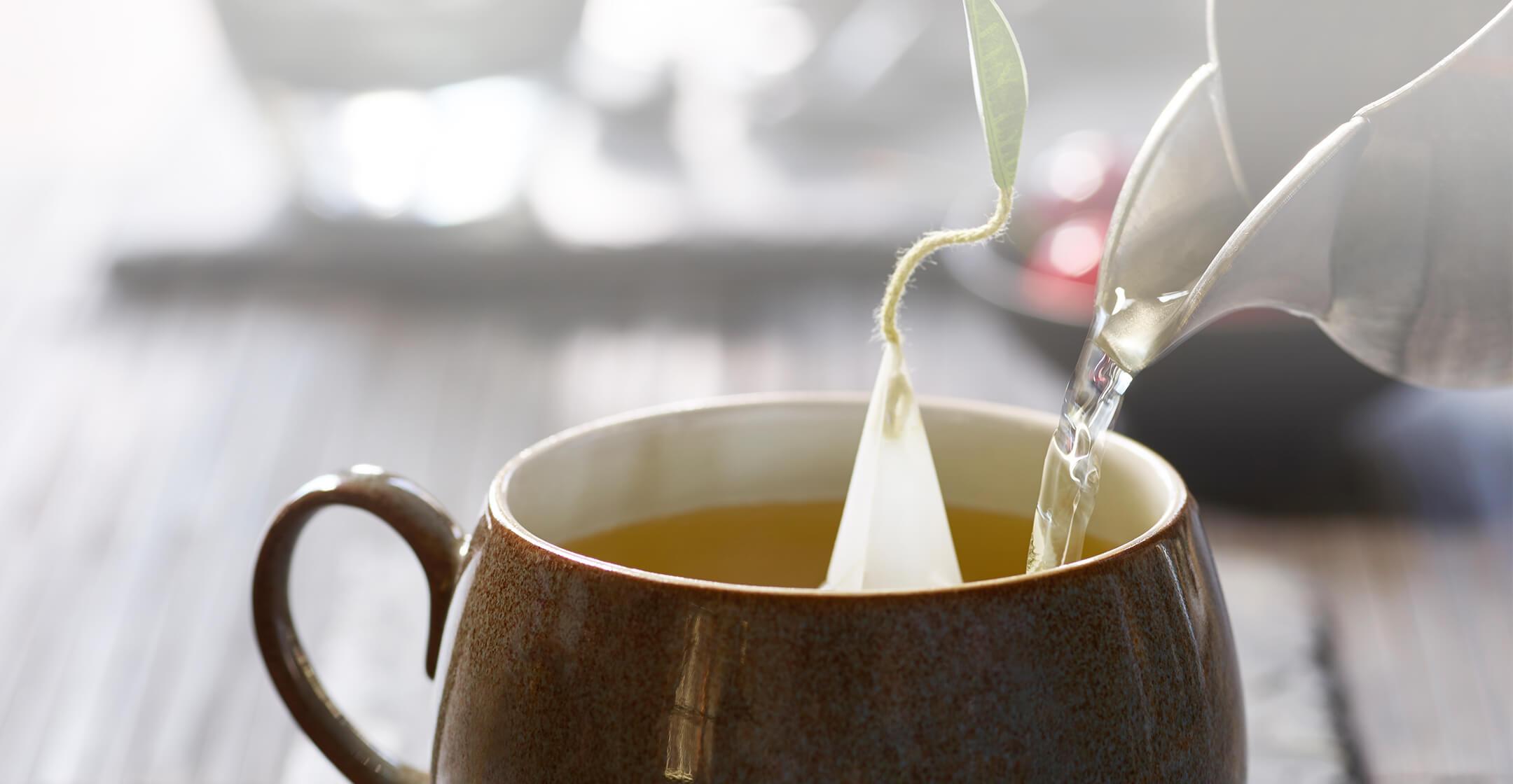 دمنوش چای سبز و گل محمدی (محصول ارگانیک)