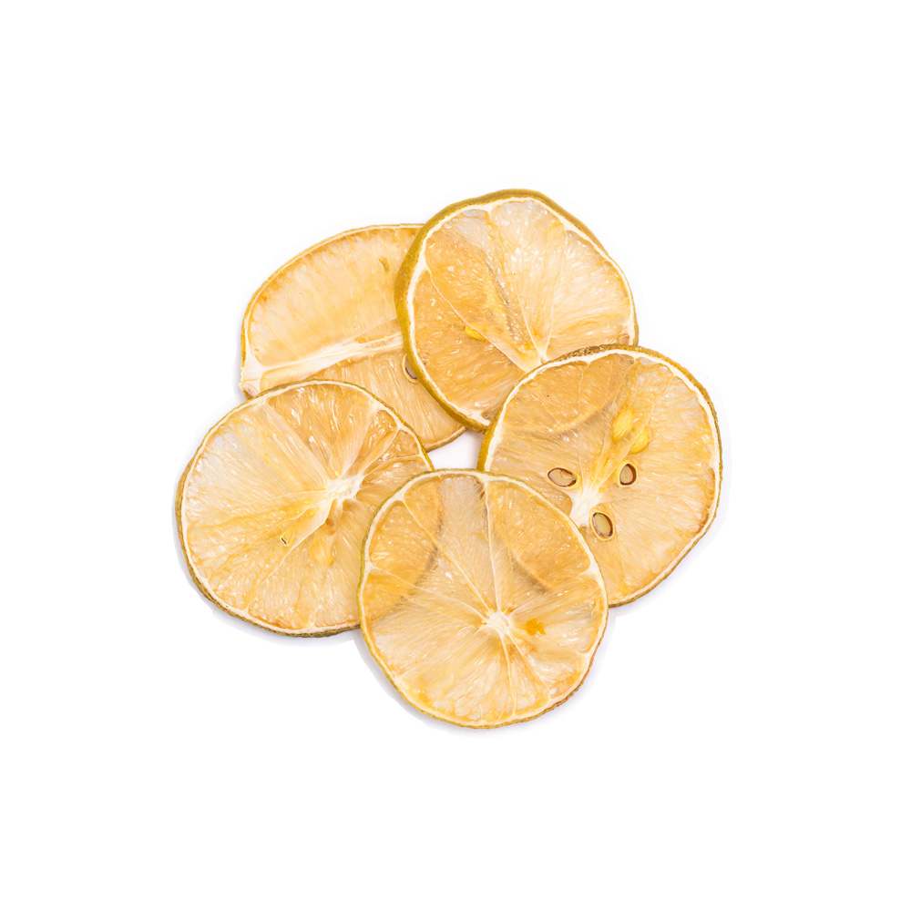 حلقه های لیمو خشک شده