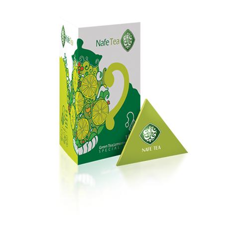 چای سبز لیمو (محصول سالم)