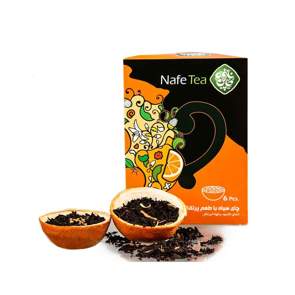 چای سیاه با طعم پرتقال